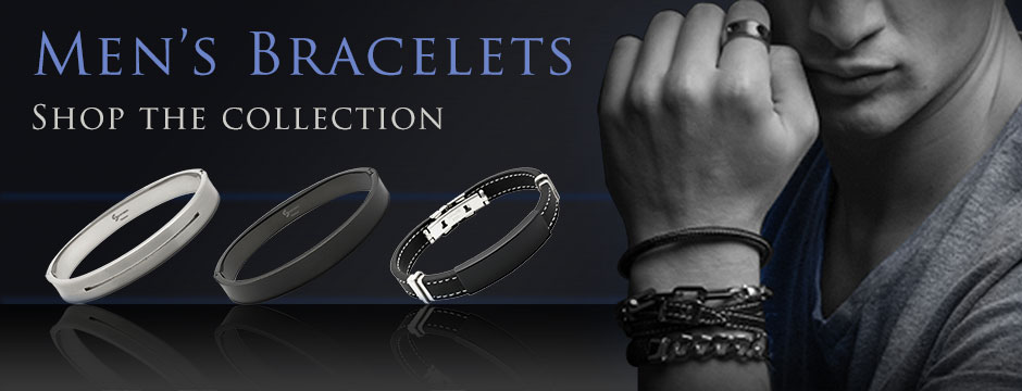 Our hottest selection of men's bracelets for this Spring/Summer 2015.