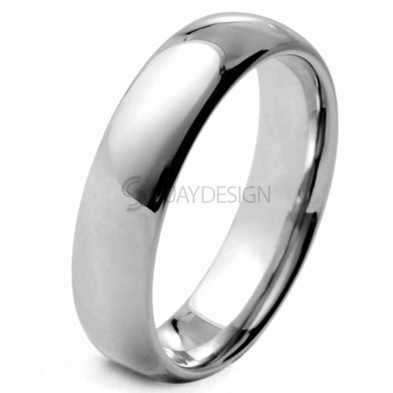 Women's Savant 6 Tungsten Ring
