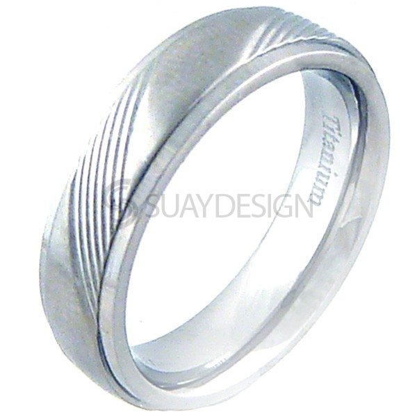 Women's Benefit Titanium Ring
