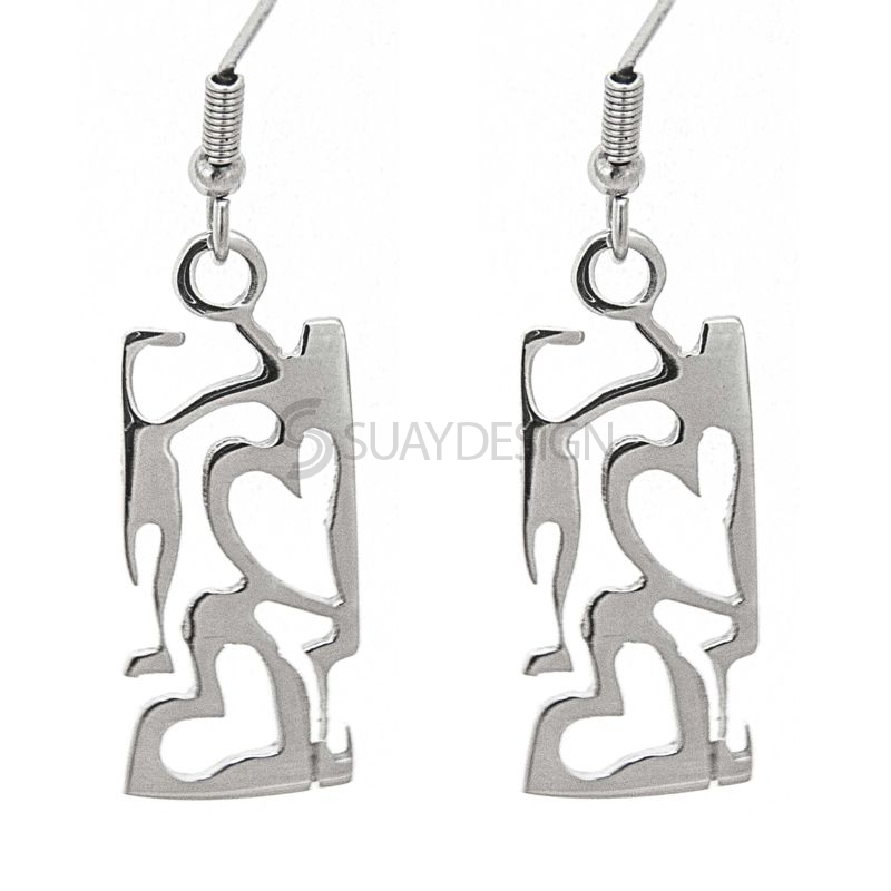 Women's Affinity Steel Earrings