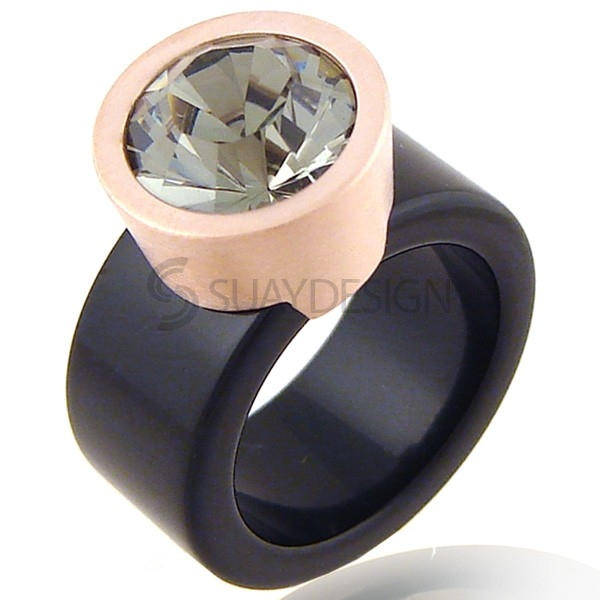 Women's Spellbound Black Diamond Ring