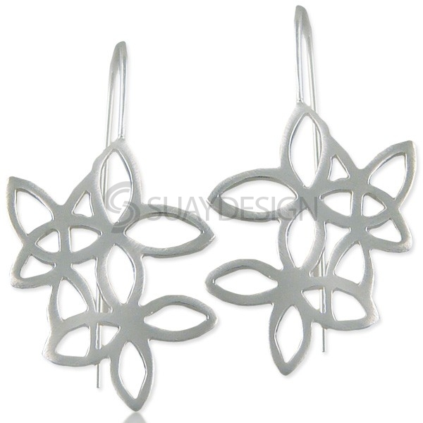 Women's Aspire Silver Earrings