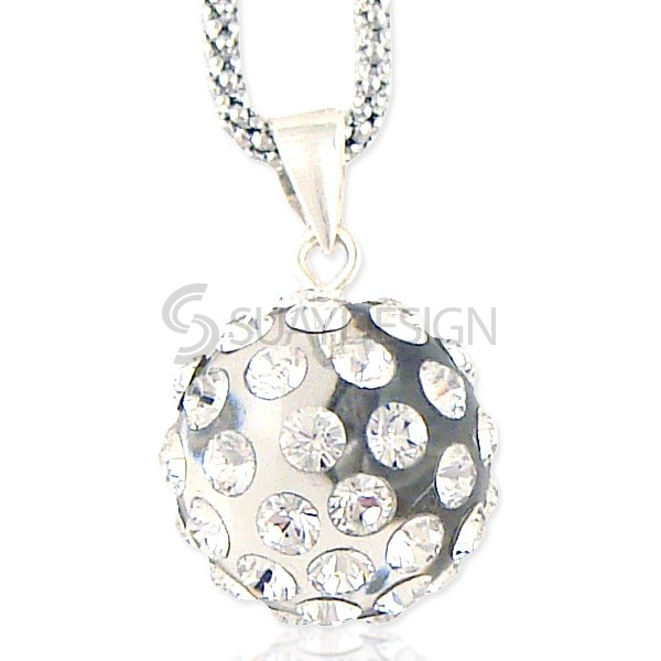 Women's Shimmer Crystal Necklace