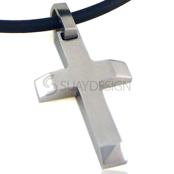 Titanium Cross Necklace