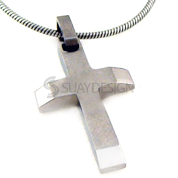 Women's Titanium Cross Necklace