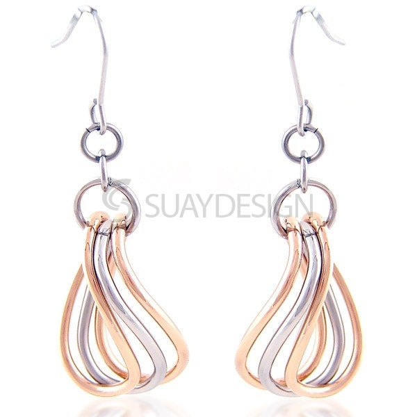 Women's Firenza Steel Earrings