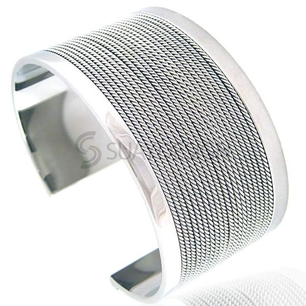 Women's Aurelia Steel Bangle