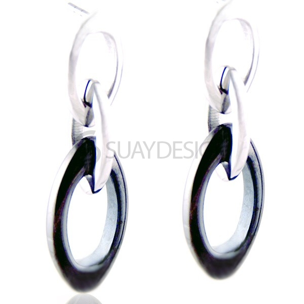 Women's Siren Steel Earrings