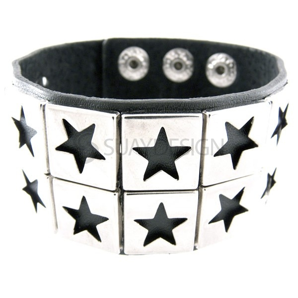 Soho Leather Cuff