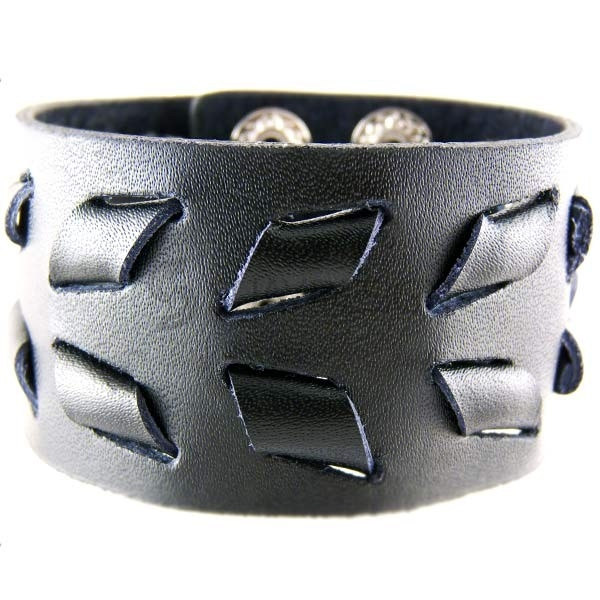 Belsize Park Leather Cuff
