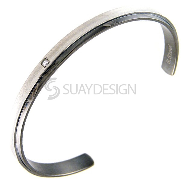 Women's Brave Steel Bangle