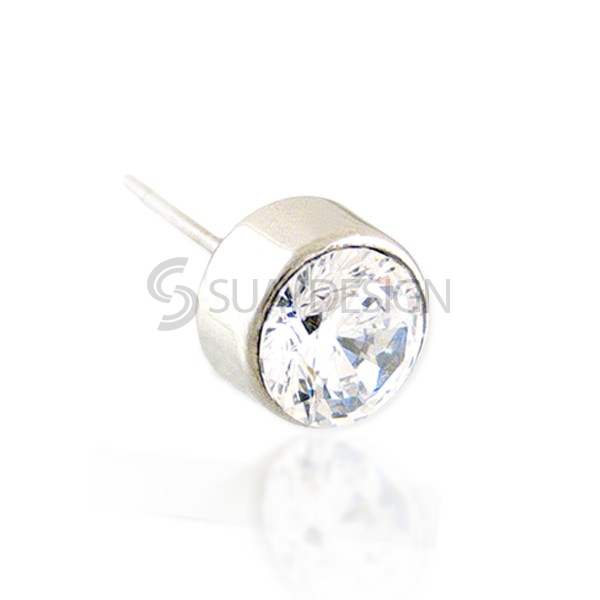 Beam 5mm Stud Earring