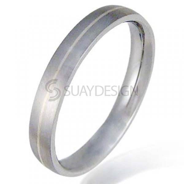 Women's Solaire Stainless Steel Ring