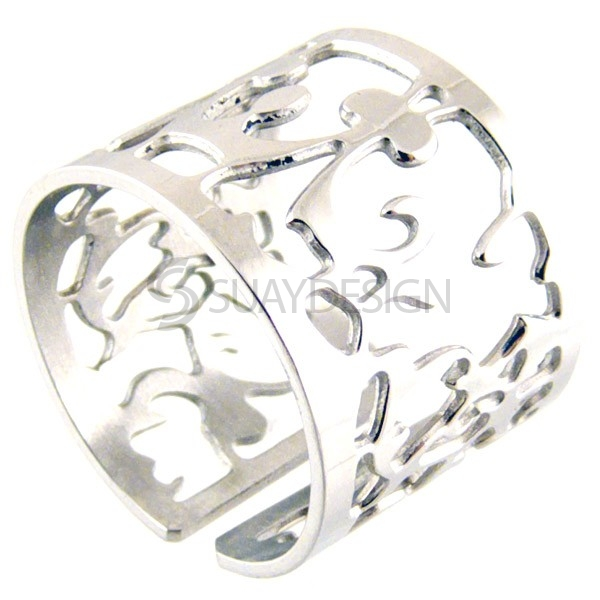 Women's Lourdes Steel Ring