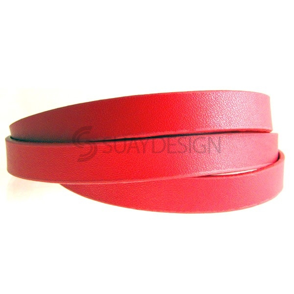 Women's Barbican Rouge Leather Cuff
