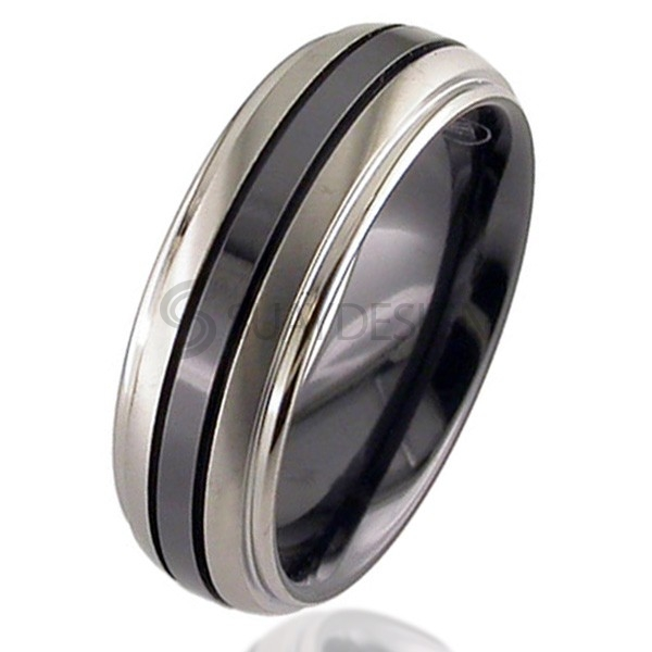 Photograph: Women's Zirconium Ring 4005iGRB-REV