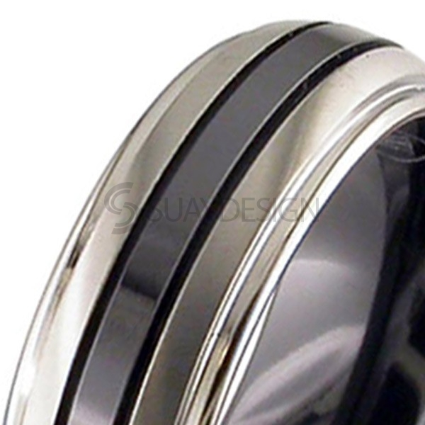 Alternative photo: Women's Zirconium Ring 4005iGRB-REV