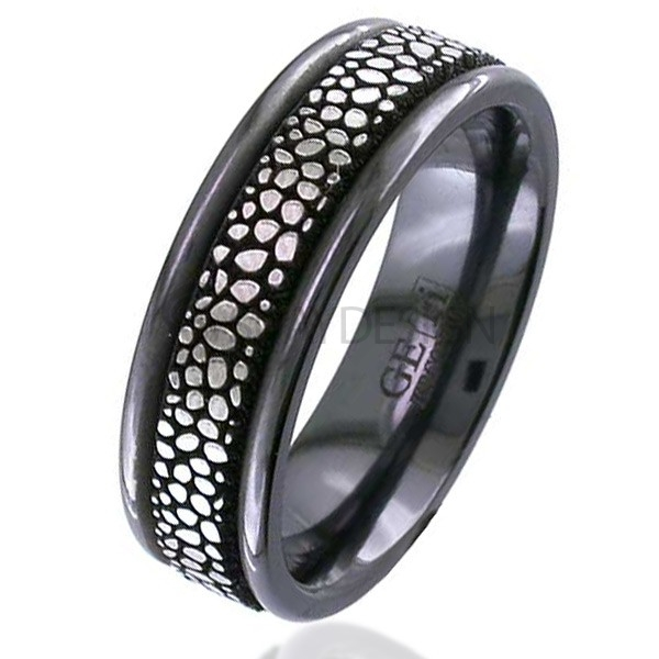 Zirconium Ring 4017RB-STINGRAY