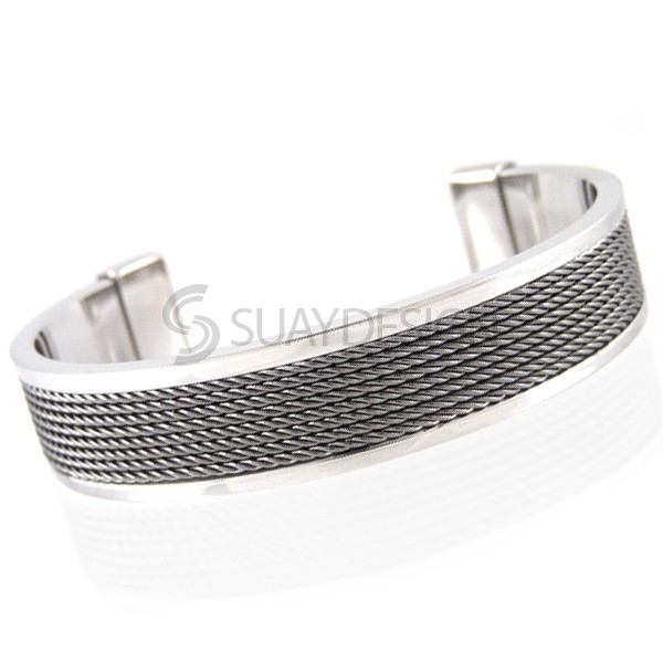 Women's Crave Steel Bangle