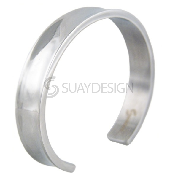 Women's Cavern Steel Bangle