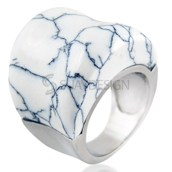 Women's Ravish Marble Ring