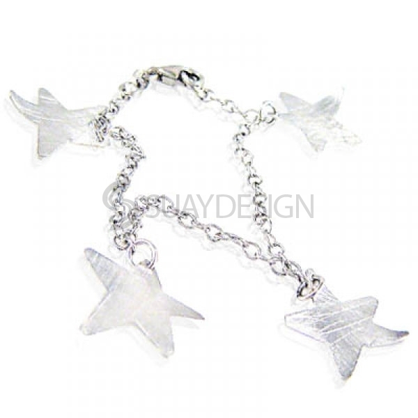 Women's Heavenly Silver Bracelet