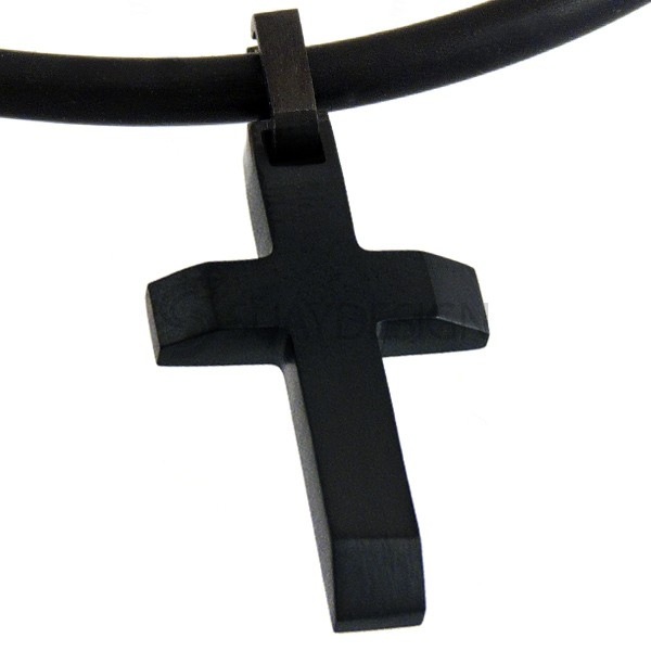Women's Titanium Black Cross