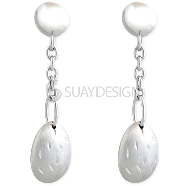 Women's Silver Grace Earrings