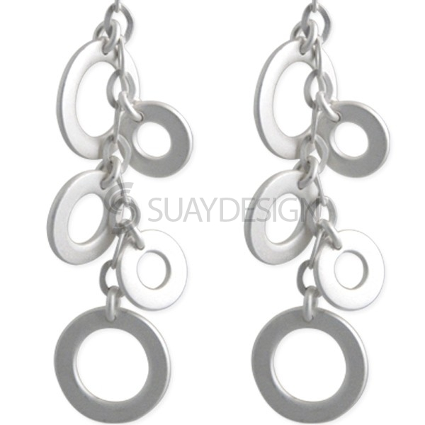 Women's Silver Perfection Earrings
