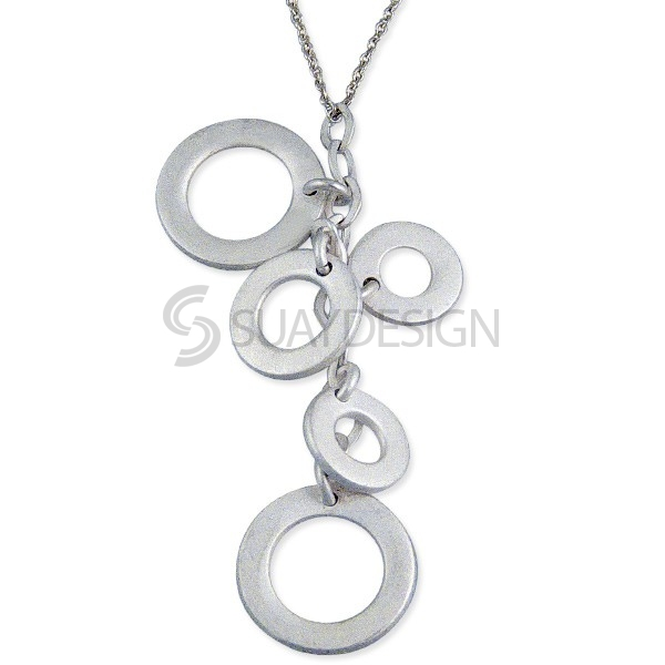 Women's Perfection Silver Necklace