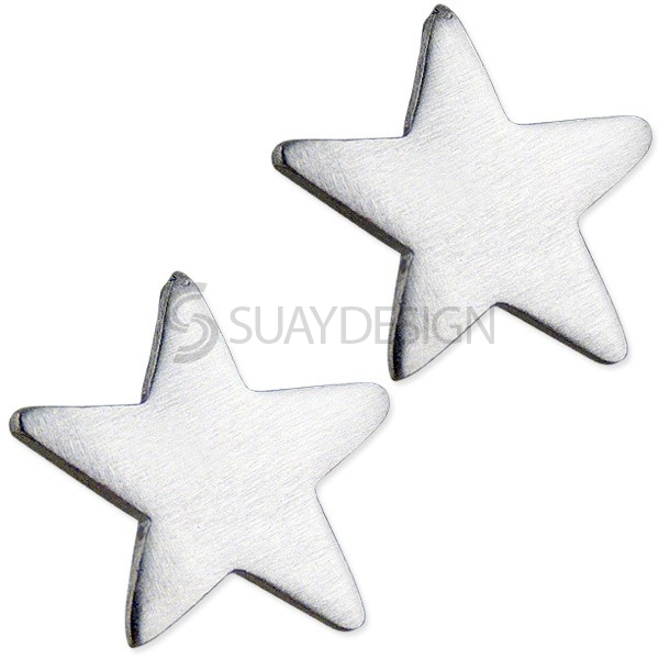 Women's Astral Satin Star Earrings