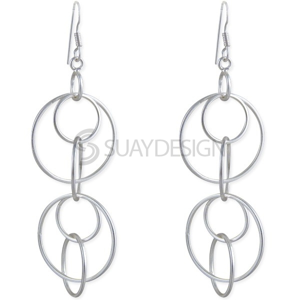 Women's Circus Satin Earrings