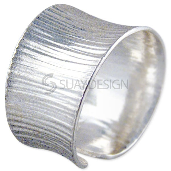 Women's Silver Saddle Ring
