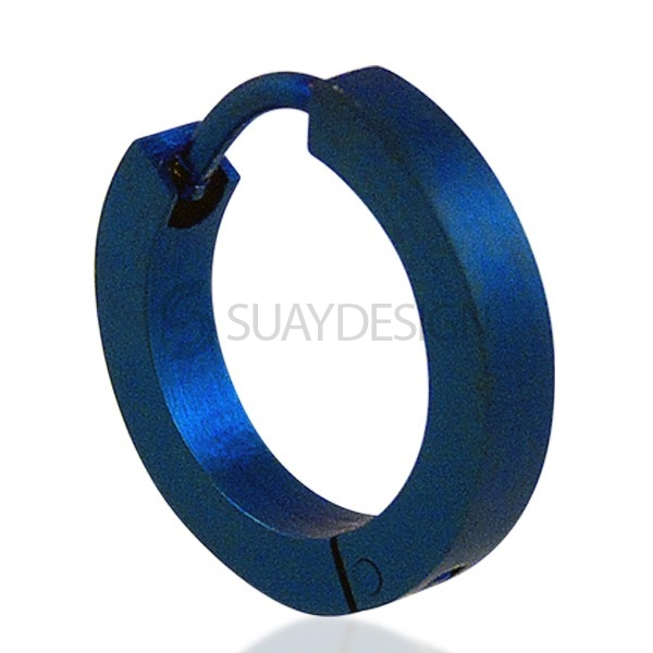 Electric Blue Slim Earring