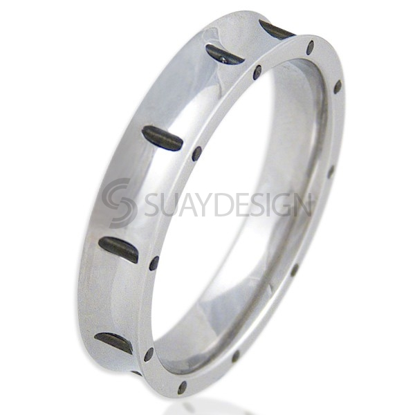 Women's Spoke Steel Ring