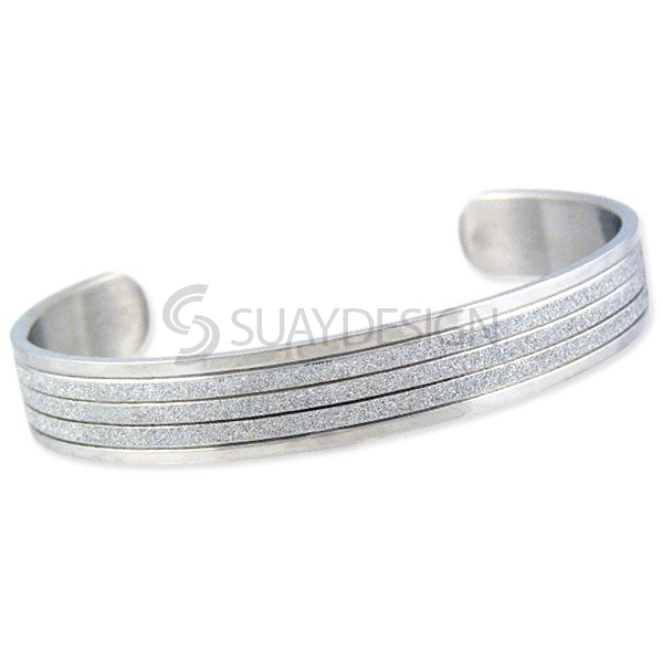 Women's Radiate Steel Bangle
