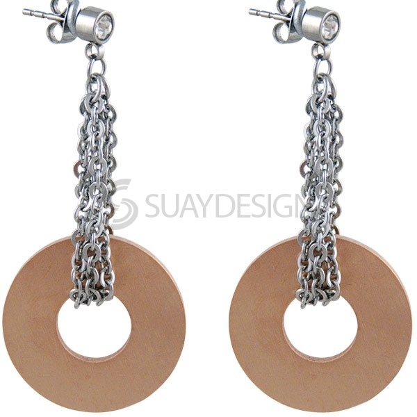 Women's Credence Steel Earrings