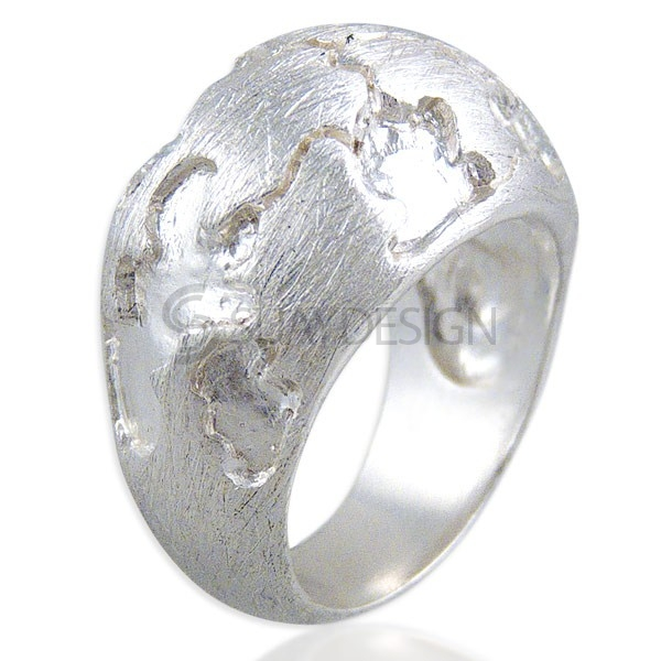 Women's Resist Silver Ring
