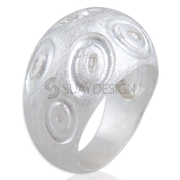 Women's Bloom Silver Ring