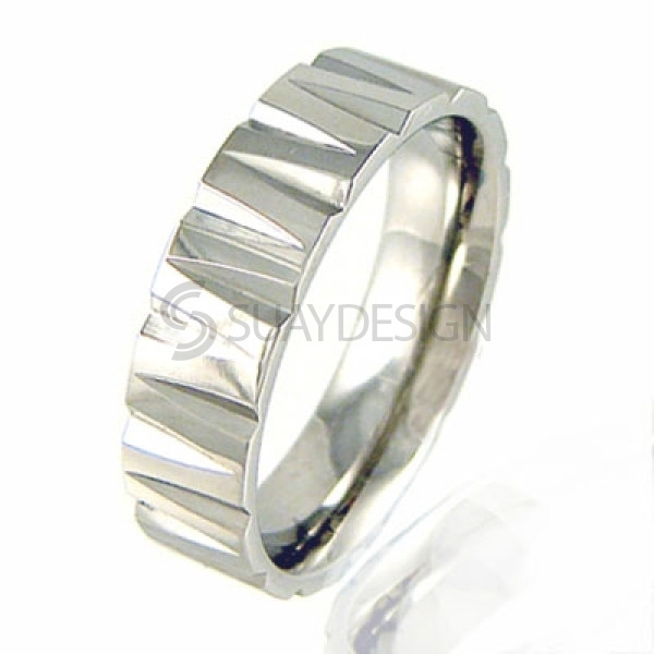 Women's Moderna Stainless Steel Ring