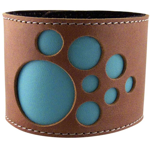 Women's Solar Tan Leather Cuff 3
