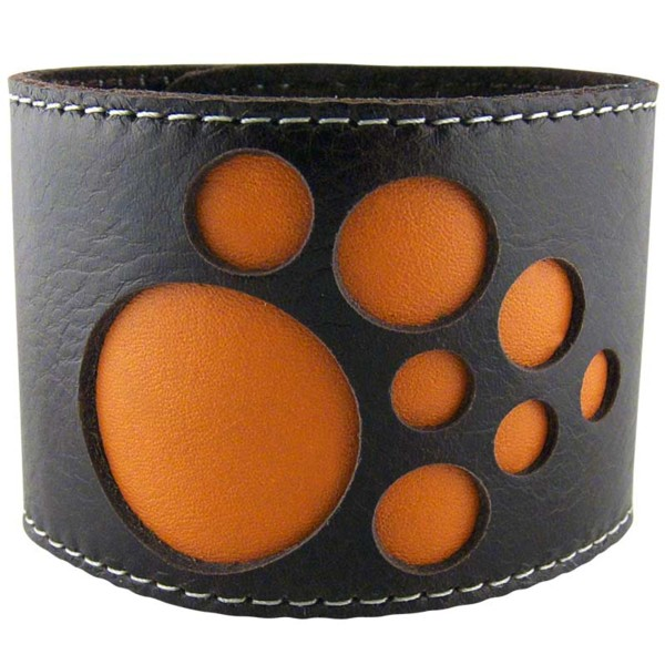 Women's Solar Brown Leather Cuff 4