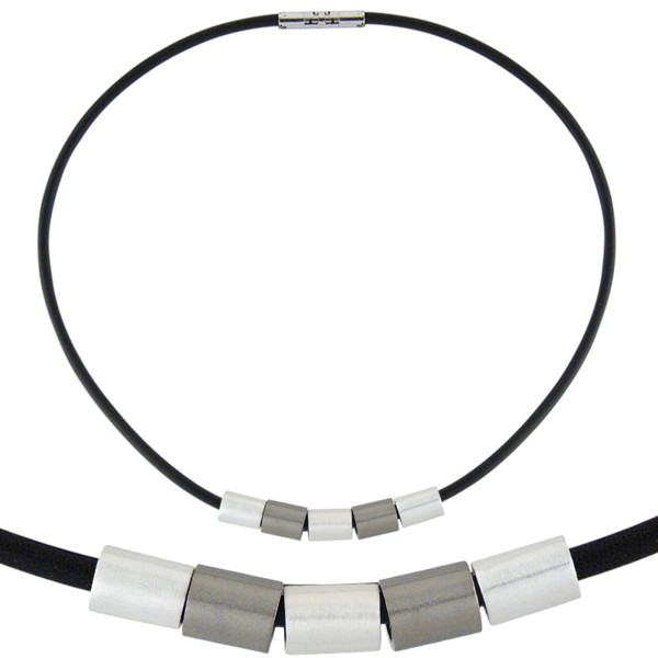 Women's Combination Titanium Necklace 110