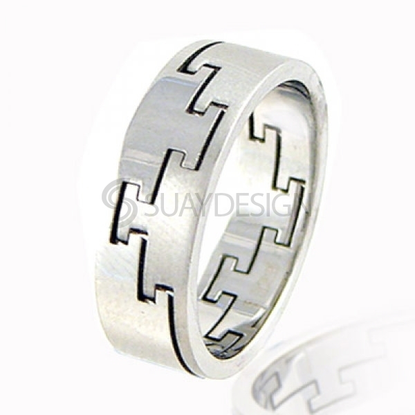 Women's Balance Stainless Steel Ring