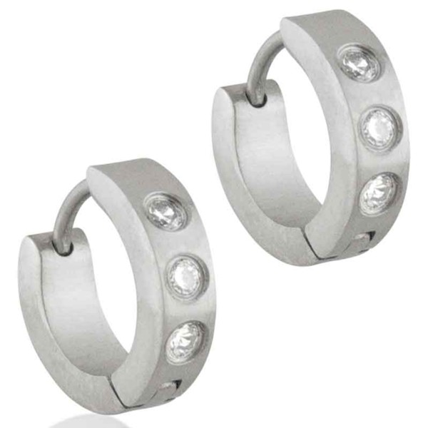 Women's Select Steel Earrings