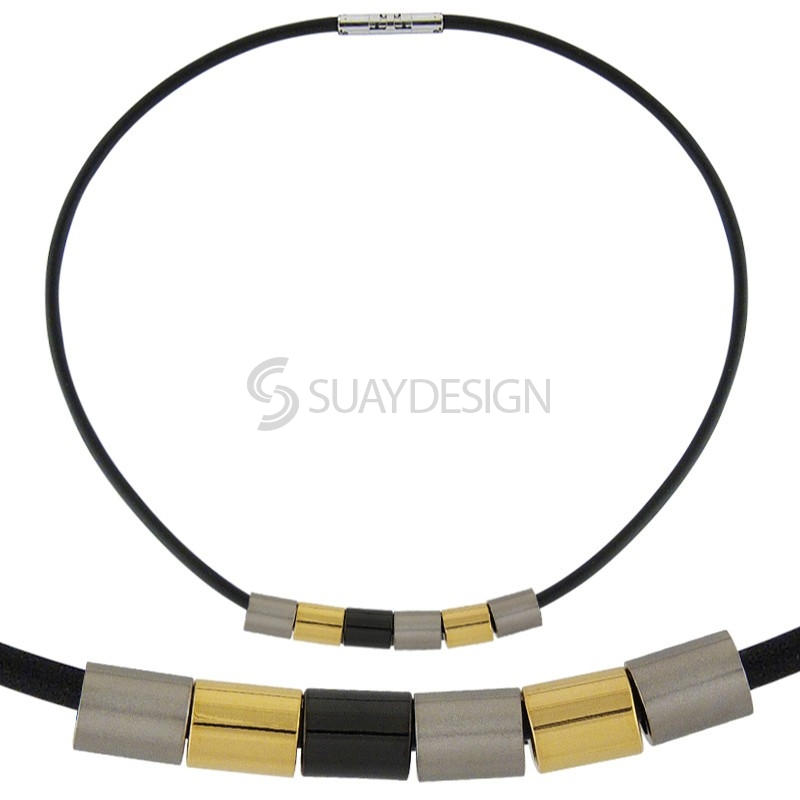 Combination Titanium Necklace 112