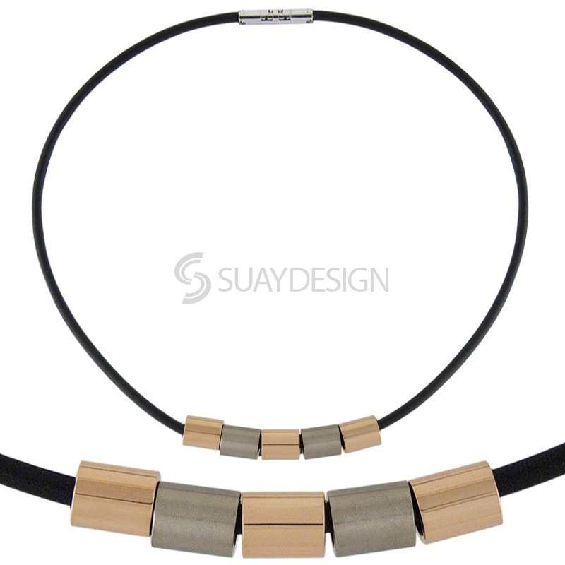 Combination Titanium Necklace 105