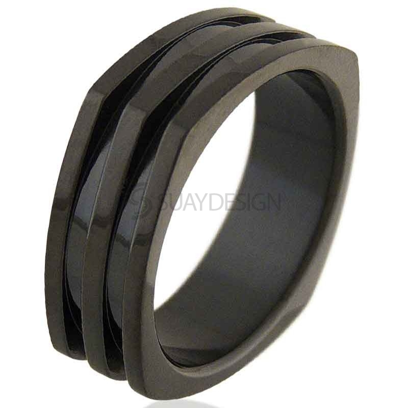 Black Range Steel Ring