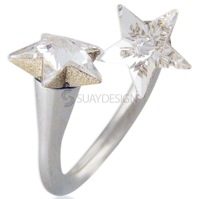 Women's Star Struck Swarovski Ring