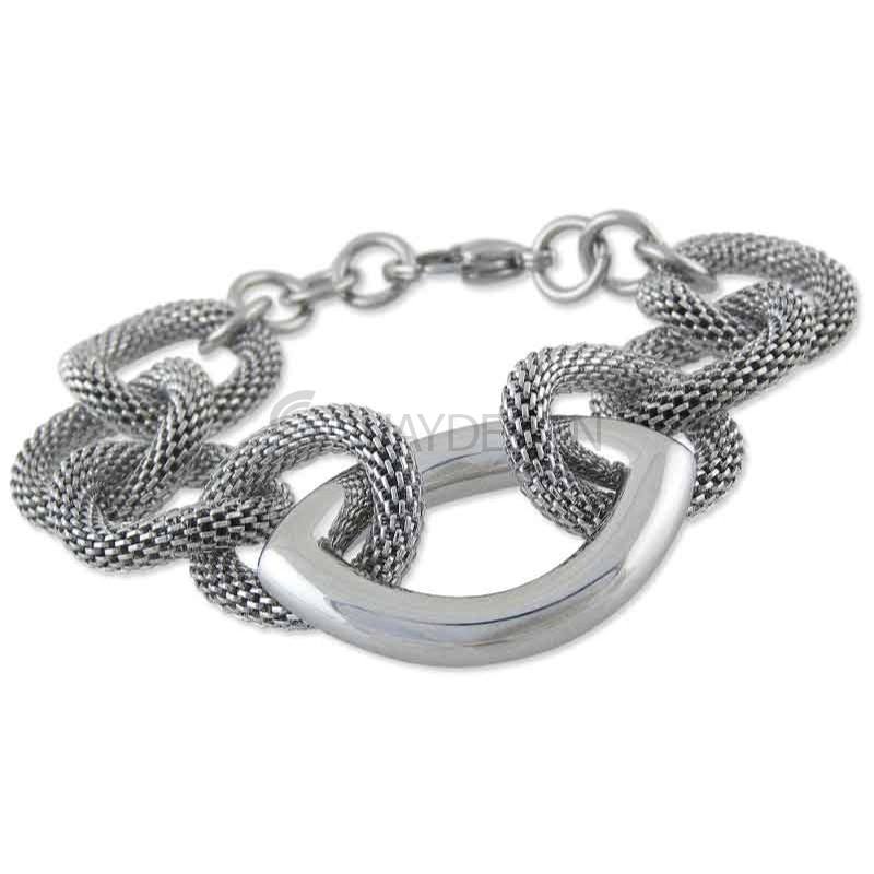 Women's Montpellier Steel Bracelet